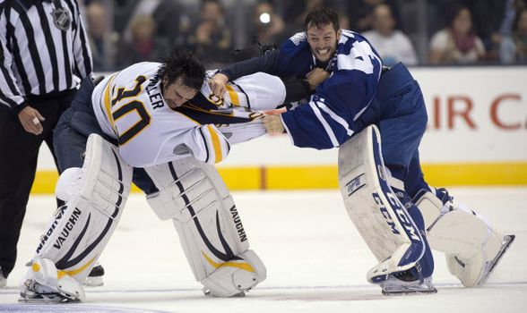 10 Most Epic Goalie Fights in NHL History