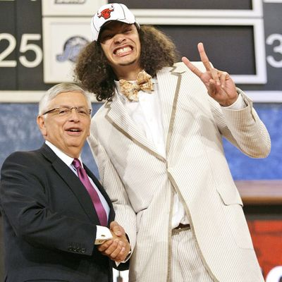 The 5 Ugliest Suits Ever Worn At The NBA Draft