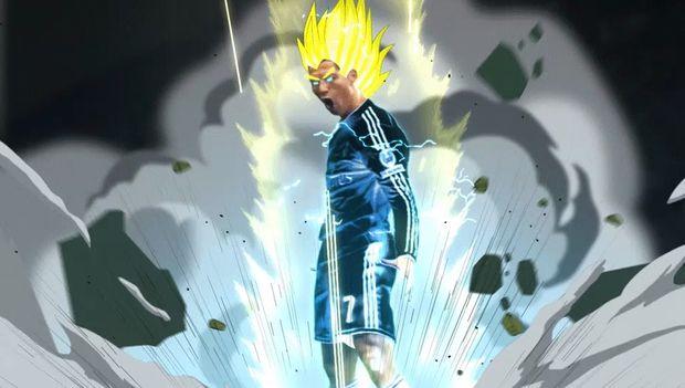 GIF: Cristiano Ronaldo Is Latest Athlete To Go Super Saiyan