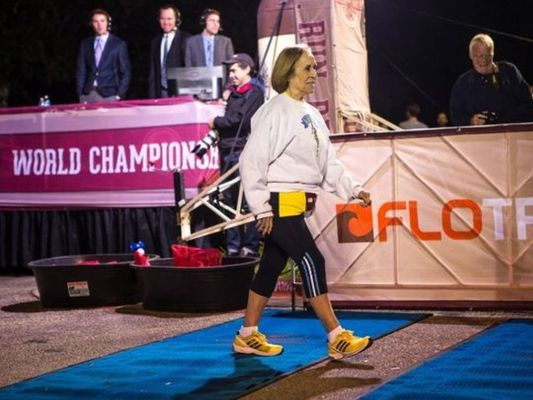 81-Year Grandmother Crushes Beer Mile, Says Scotch Would Have Made Her Faster