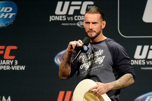 "CM Punk on UFC Bad Boy Nate Diaz: ""He's a Super Nice Guy"""