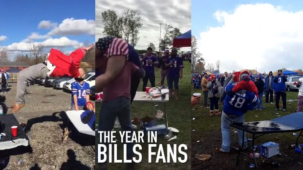 WATCH: Tommy Dreamer Critiques The Wrestling Moves Of Drunk Buffalo Bills Fans