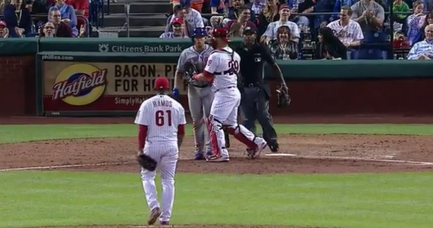 The Phillies and the Mets Got Heated Over a 6-Month Old Bat Flip