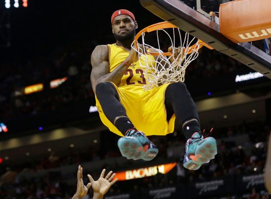 WATCH: 17 Glorious Minutes of The Greatest Dunks From The NBA Season