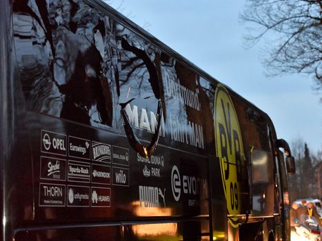 Explosion Near Dortmund's Team Bus Injures Player, Cancels Champions League Match