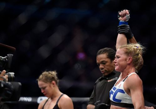 Holly Holm Discusses Her Ronda Rousy Knockout Kick