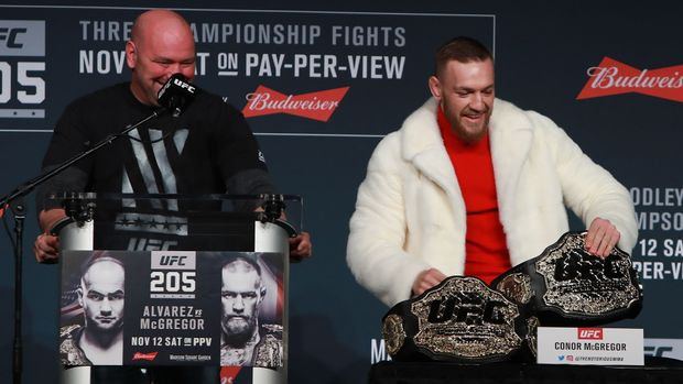 Dana White and Conor McGregor Strike a Deal for Mayweather Fight