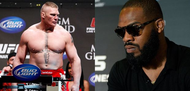 "Jon Jones Wants to Fight Brock Lesnar; Lesnar Says ""Bring It"""