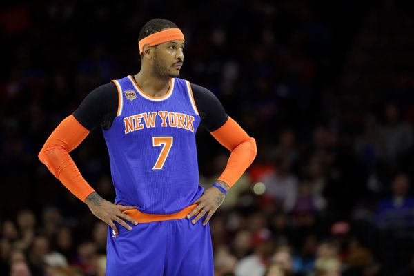 Report: Carmelo Anthony Tells The Knicks He's Not Coming Back to NY