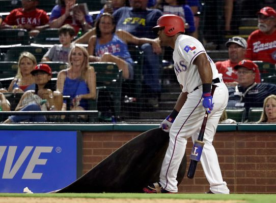 WATCH: Adrian Beltre Tossed For Jokingly(?) Moving On-Deck Circle
