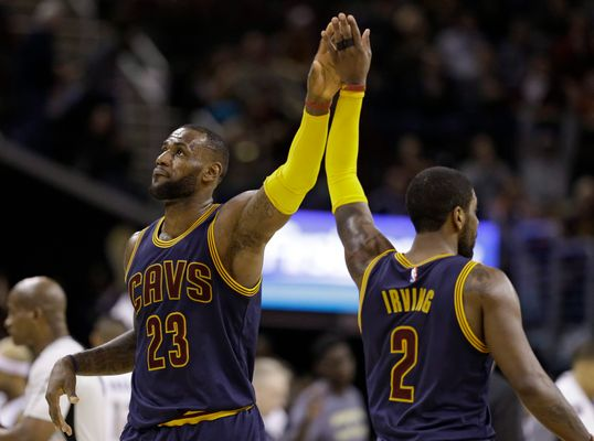 LeBron Approves of Cavs Signing Derrick Rose, Apparently Wants to Fight Kyrie Irving