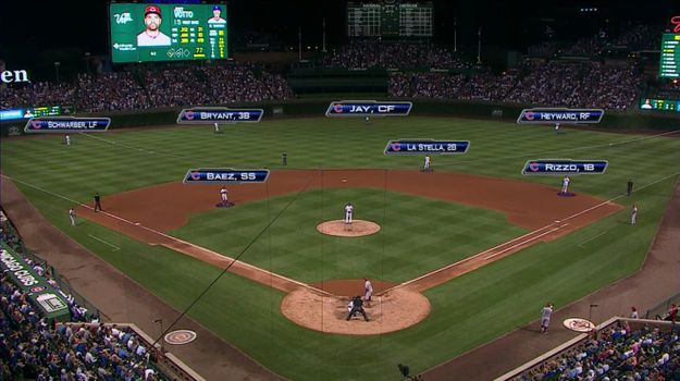 WATCH: Cubs Play With Four Outfielders Against Joey Votto, Who Hits a Double Anyway