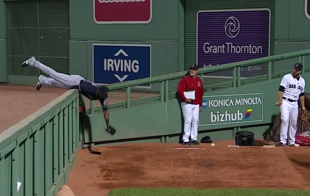 WATCH: Austin Jackson Makes Catch of the Year