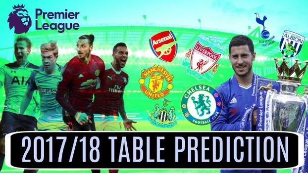 Predicting the 2017/18 finish of all 20 EPL Teams