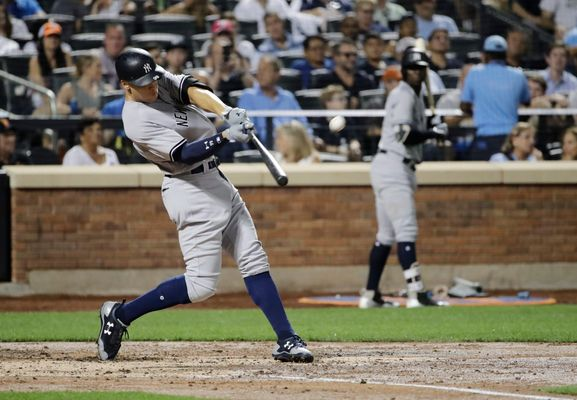 WATCH: Aaron Judge Murders Poor Defenseless Baseball