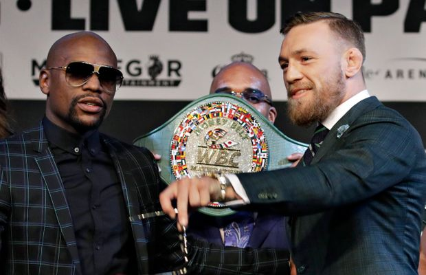"McGregor and Mayweather Will Fight For This Ludicrous ""Money Belt"""