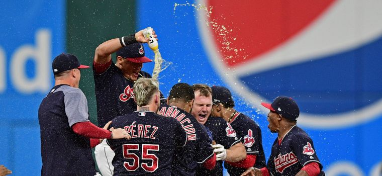 WATCH: Cleveland Windians Barely Keep Streak Alive After Being Down To Their Last Strike