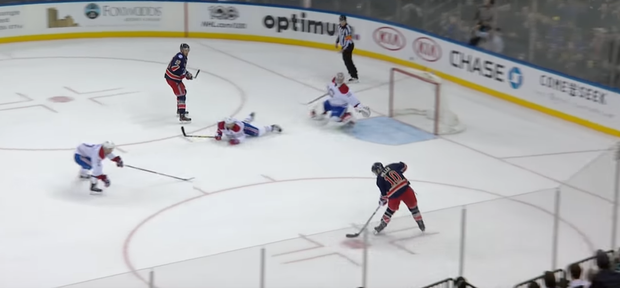 WATCH: Carey Price Makes Insane Diving Save in Dying Seconds of OT