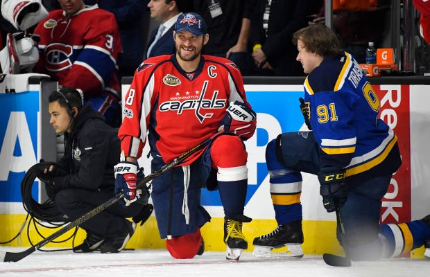 Alex Ovechkin Passes All-Time Greats Gretzky And Francis On Same Night