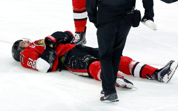 Injury Bug Hits Senators Hard; Hoffman, Stone And Ryan All Out