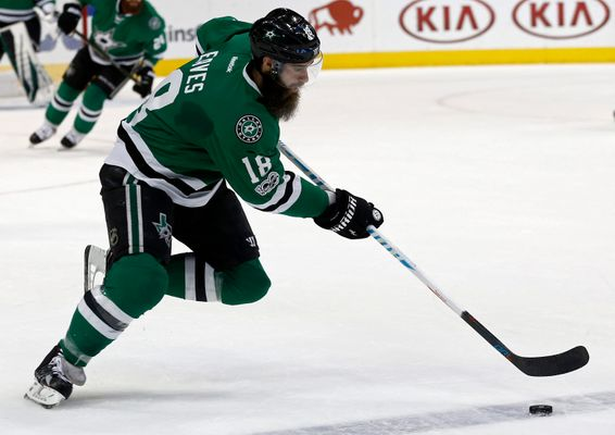 Report: Anaheim Acquires Eaves From Stars For Conditional Second Round Pick