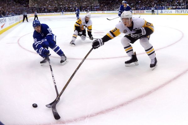 NHL Injuries: Leafs' Marner Day To Day; Penguins Maatta Out Six Weeks