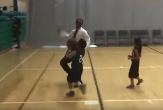 OMG: Fed Up Coach Savagely Rejects Young Baller