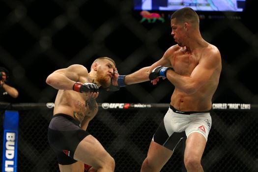 """Nate Diaz Thinks Conor McGregor """"Has a Chance"""" to Beat Floyd Mayweather"""