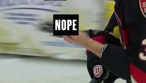 GROSS: Sidney Crosby Almost Slashed Marc Methot's Finger Off
