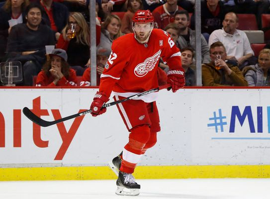 Report: Panthers Acquire Vanek From Detroit
