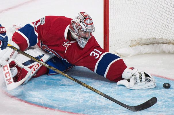 WATCH: Carey Price Gives Death Stare to Man Who Tries to Steal Souvenir Puck From a Kid