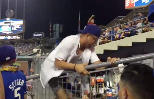 WATCH: Idiot Fan Jumps Into Astros Bullpen During Game 2 of World Series
