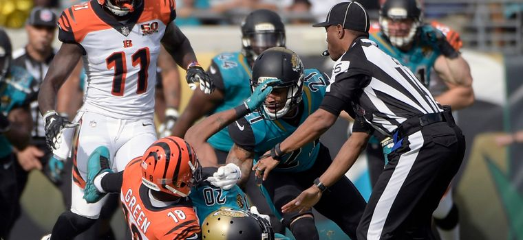 WATCH: A.J. Green Snaps, Puts Jalen Ramsey in Chokehold Before Throwing Punches