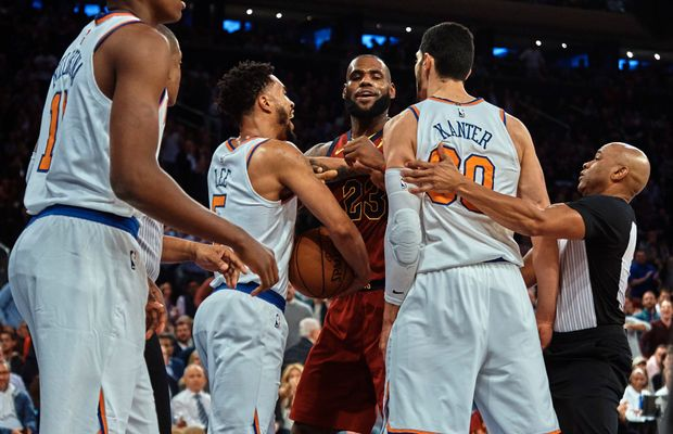 """Enes Kanter Calls Out """"Queen James"""" After LeBron Thoroughly Owns The Knicks"""