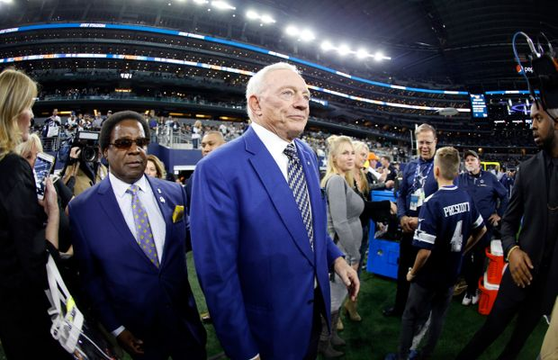 Jerry Jones Backs Off Plans To Sue The NFL, Still Mad At Roger Goodell Though