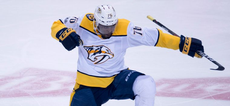 WATCH: P.K. Subban Scores From The Faceoff Circle At Center Ice