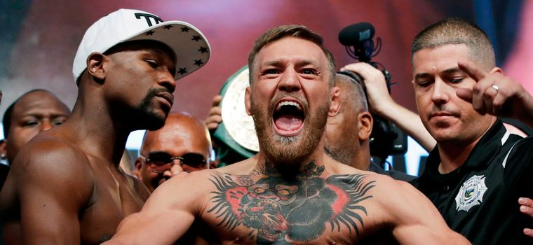 Warrant Issued For Conor McGregor After He Crashes UFC 223 Presser, Injures Another Fighter