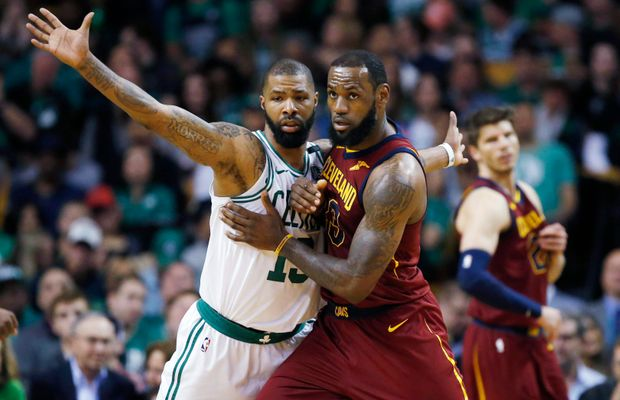 "Marcus Morris Roasts Pacers', Raptors' Defense of LeBron James: ""Them Dudes Can't Guard"""