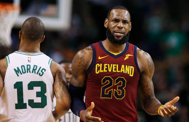 "LeBron Not Worried About Lopsided Game 1 Loss: ""This Isn't March Madness"