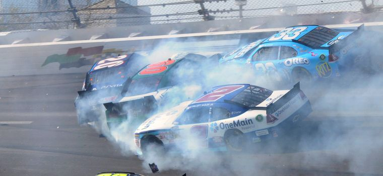 The Luckiest Moments in NASCAR History