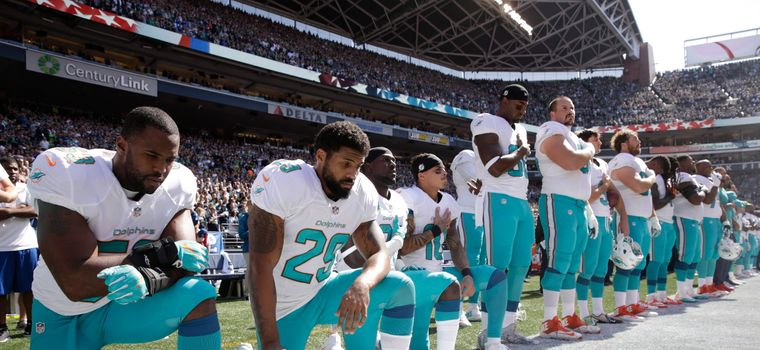 The NFL Backs Down On Banning National Anthem Protests