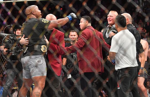 Daniel Cormier Wants Fight Fans To Embrace The UFC/WWE Crossover