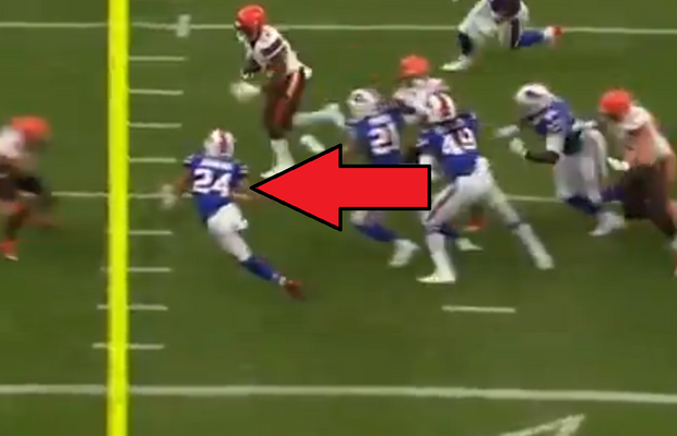 "Buffalo Bills Furious Over ""Dirty"" Hit By Jarvis Landry"
