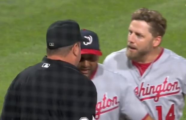 Mark Reynolds Gets Ejected & (Poorly) Uses Batting Gloves as a Weapon