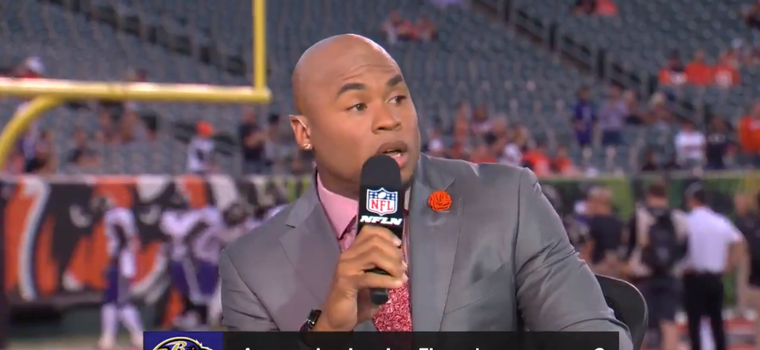 Michael Irvin And Steve Smith Get Heated On TNF Broadcast