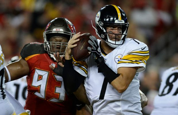 WATCH: Ben Roethlisberger Shamelessly Flops To Draw Roughing The Passer Penalty