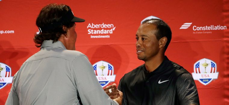 Woods, Mickelson And DeChambeau Named To U.S. Ryder Cup Team