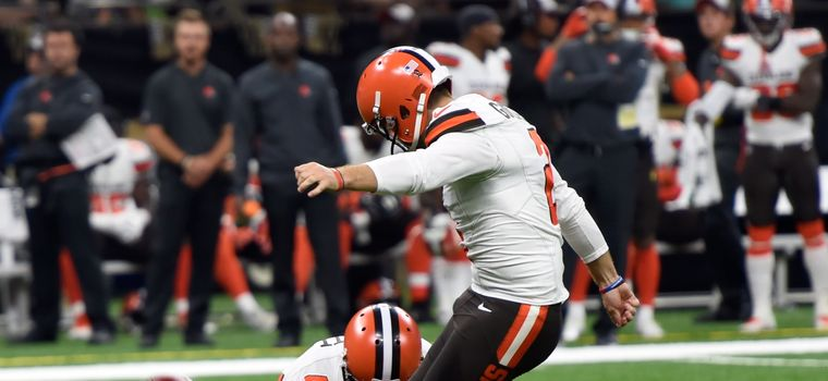 Surprise, Suprise — The Browns Want a New Kicker