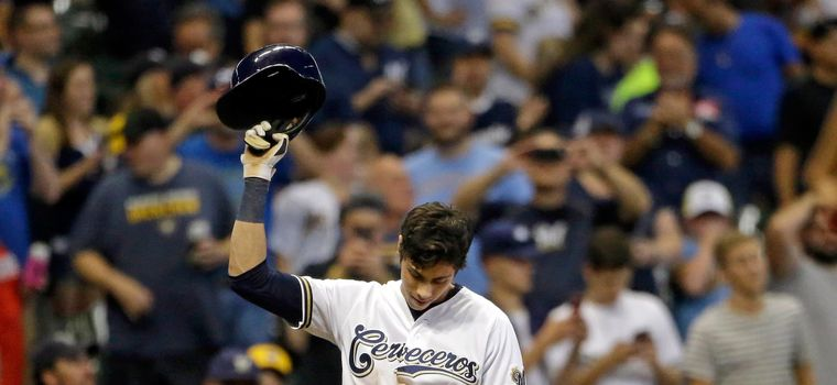 WATCH: Christian Yelich Makes History By Hitting For The Cycle For The Second Time This Season