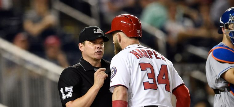 WATCH: Bryce Harper Gets Ejected For The First Time This Season